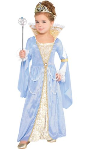 Little Girls Royal Highness Costume