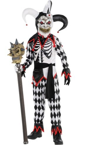Little Boys Sinister Jester Costume