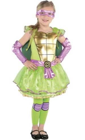 Little Girls Donatello Costume - Teenage Mutant Ninja Turtles