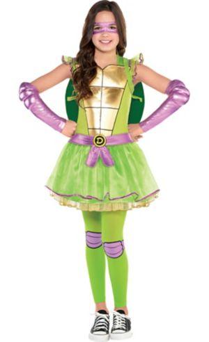 Girls Donatello Costume - Teenage Mutant Ninja Turtles