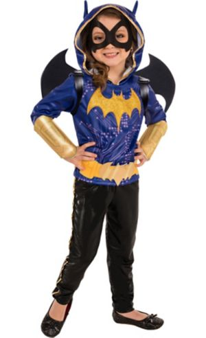 Little Girls Batgirl Costume - DC Super Hero Girls