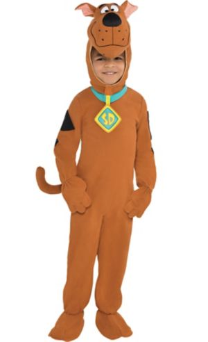 Toddler Boys Zipster Scooby-Doo One Piece Costume