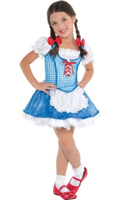 Toddler Girls Dorothy Costume - The Wizard of Oz- Party City  sc 1 st  Shopswell & Toddler Girls Dorothy Costume - The Wizard of Oz- Party City | shopswell