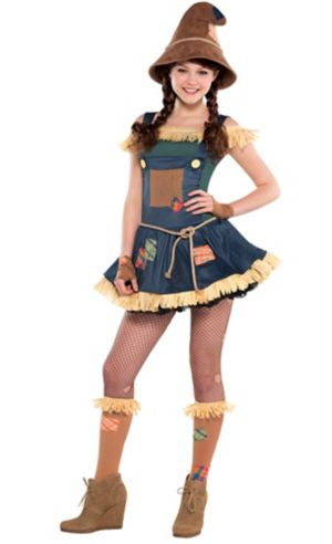 Teen Girls Scarecrow Costume - The Wizard of Oz