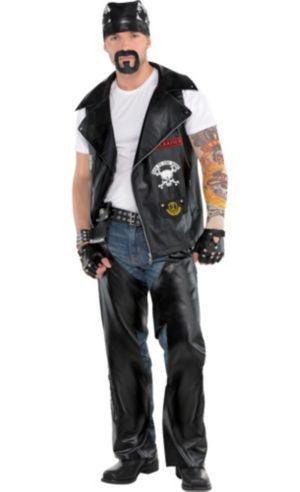Adult Biker Costume Deluxe