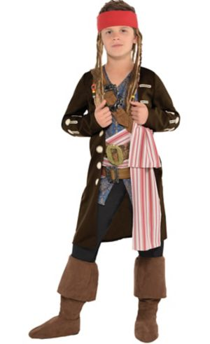 Boys Jack Sparrow Costume - Pirates of the Caribbean: Dead Men Tell No Tales