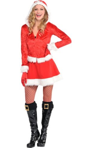 Adult Ms. Claus Costume