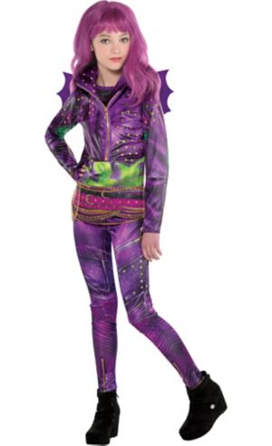 Girls Mal Costume - Disney Descendants 2