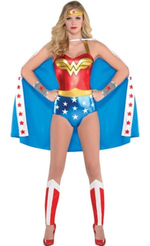 Adult Wonder Woman Bodysuit Costume