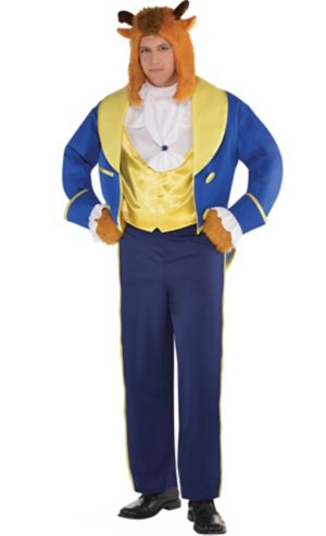 Adult Beast Costume Plus Size - Beauty and the Beast