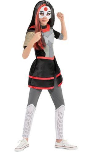 Girls Tunic Katana Costume - DC Super Hero Girls