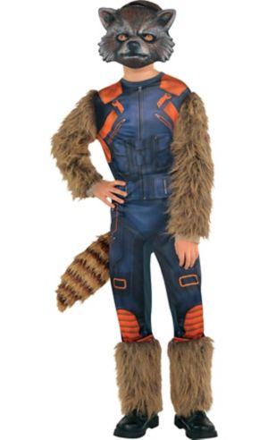 Boys Rocket Raccoon Costume - Guardians of the Galaxy 2