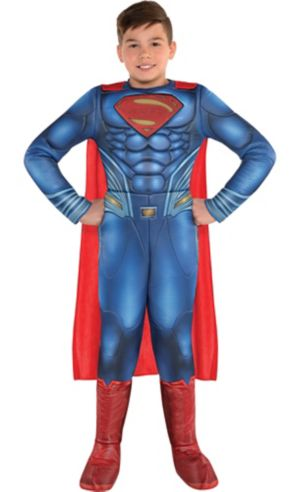 Boys Superman Muscle Costume - Justice League Part 1