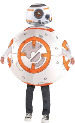 Boys Inflatable BB-8 Costume - Star Wars 7 The Force Awakens