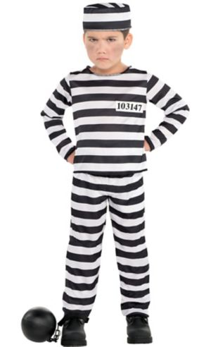 Toddler Boys Mischief Maker Prisoner Costume