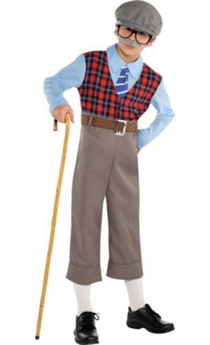 Boys Old Geezer Costume