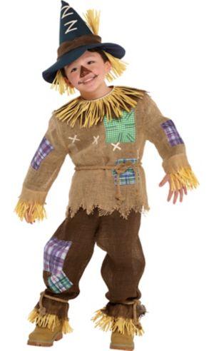 Toddler Boys Friendly Scarecrow Costume
