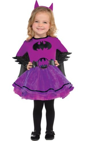 Baby Purple Batgirl Costume - Batman