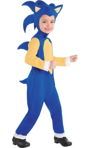 Little Boys Sonic Costume - Sonic the Hedgehog