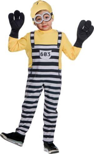 Little Boys Jail Tom Costume - Despicable Me 3