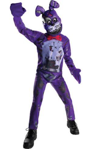 Boys Nightmare Bonnie Costume - Five Nights at Freddy's 4