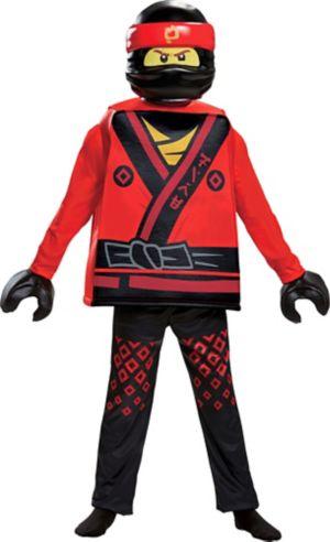 Boys Kai Costume - The Lego Ninjago Movie