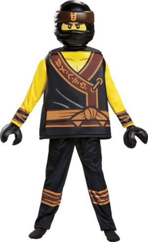 Boys Cole Costume - The Lego Ninjago Movie