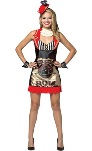 Adult Rum Dress Bottle of Rum Costume