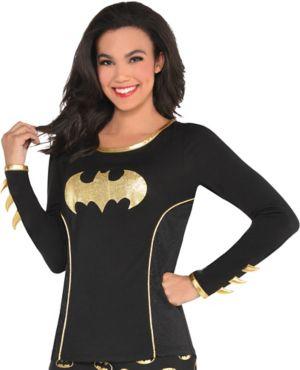 Adult Batgirl Long-Sleeve Shirt - Batman