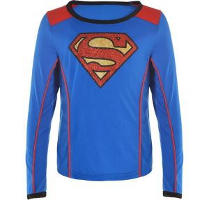 Child Supergirl Long-Sleeve Shirt - Superman