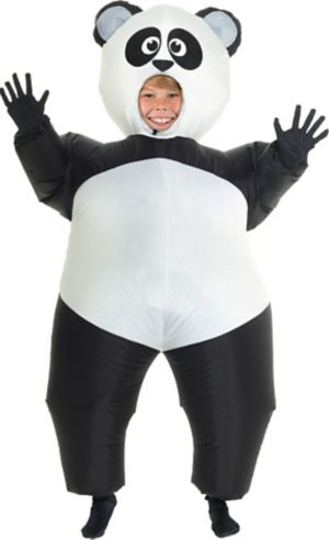 Boys Inflatable Panda Costume