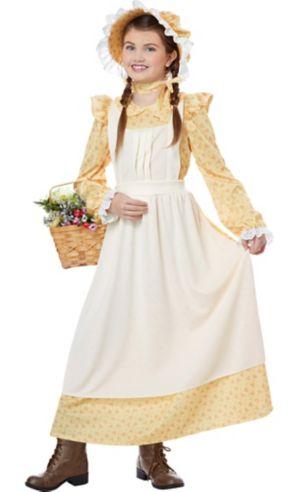 Child Prairie Girl Costume Accessory Kit