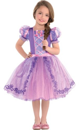 Toddler Girls Rapunzel Dress Costume - Tangled
