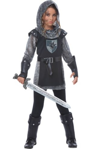 Girls Noble Knight Costume
