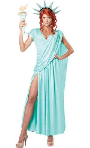 Adult Sexy Lady Liberty Costume