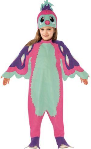 Little Girls Pink Penguala Costume - Hatchimals
