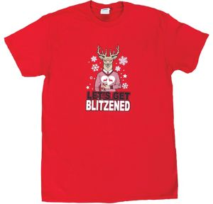 Adult Let's Get Blitzened T-Shirt