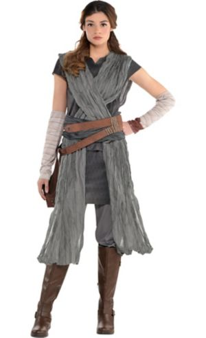Adult Rey Costume - Star Wars 8 The Last Jedi