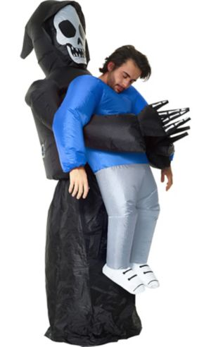 Adult Inflatable Grim Reaper Pick-Me-Up Costume