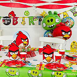 Angry Birds Party Table Idea