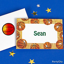Basketball Thank You Note Idea
