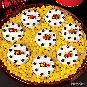 Cars Winner's Circle Cookies How To