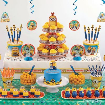Despicable Me Treats Table Idea