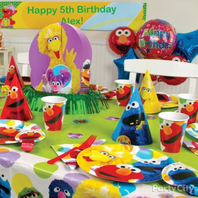 Elmo Party Table Idea