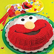 Elmo Form Cake How To