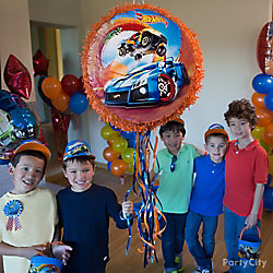 Hot Wheels Pinata Game Idea