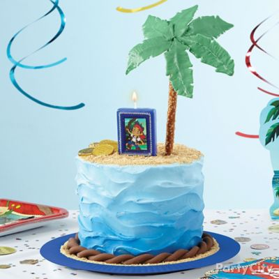 Jake Never Land Island Cake How To
