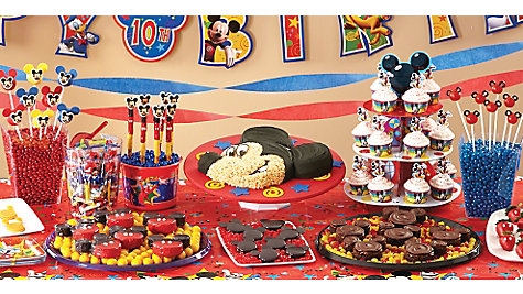 Mickey Mouse Sweets & Treats