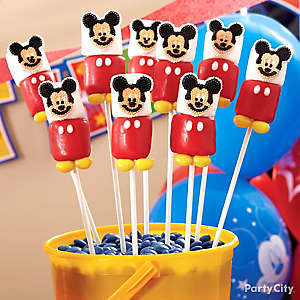 Mickey Mouse Marshmallow Pops How To