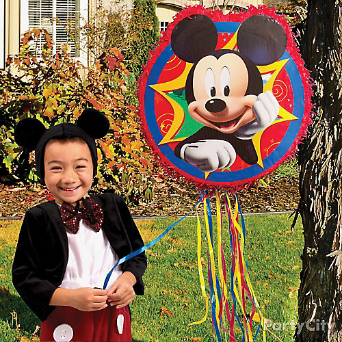 Mickey Mouse Pinata Game Idea